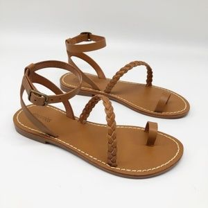 Soludos Nude Strappy Braided Madrid Sandal